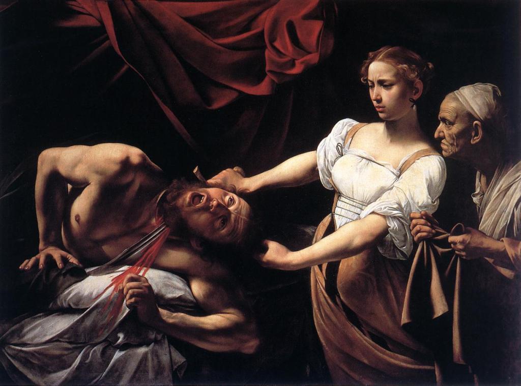 Caravaggio_Judith_Beheading_Holofernes